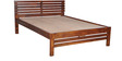 Winona Queen Size Bed in Honey Oak Finish by Woodsworth