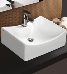 Bell White Ceramic Basin (Model: 8001)