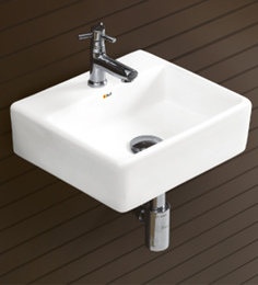 Bell White Ceramic Basin (Model: 8003)