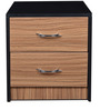 Bed Side Table in Dark Brown Colour by Parin