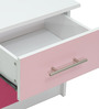 McMimi Bed Side Table in Red and Pink Colour by Mollycoddle