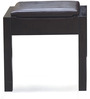 Beetle Dressing Table with Full Size Mirror in Brown Finish by @Home
