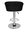 Begonia Bar Chair in Black Leatherette by Starshine