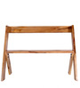 Mosby Bench in Natural Finish by Woodsworth