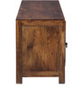 Belmont Entertainment Unit in Provincial Teak Finish by Woodsworth