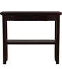 Tacoma Solid Wood Console Tables in Espresso Walnut Finish by Woodsworth