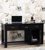 Elroy Study & Laptop Table in Espresso Walnut Finish by Woodsworth