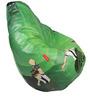 BEN10 Digital Printed Bean Bag Cover in Multicolour by Orka
