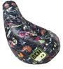 Ben 10 Digital Printed Filled Bean Bag in Multicolour by Orka