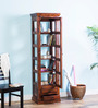 Bernwicke Book Case in Honey Oak Finish by Amberville