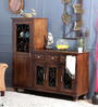 Avice Cabinet in Provincial Teak Finish by Amberville