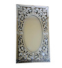 Berkeley Decorative Mirror in Silver by Amberville