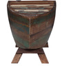 Bessemer Bar Cabinet in Distress Finish by Bohemiana