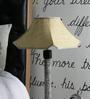 Beverly Studio Yellow Khadi Lamp Shade