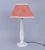 Belper Table Lamp in Red by Amberville