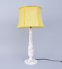 Benford Table Lamp in Yellow by Amberville