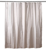 Bianca Whites Polyester 80 x 72 Shower Curtain