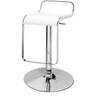 Big Slopy Bar Chair in White Colour by The Furniture Store
