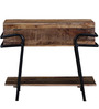 Kirov Console Table in Rustic Finish by Bohemiana