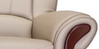 Blos Three Seater Sofa in Pebble Beige Colour by Durian