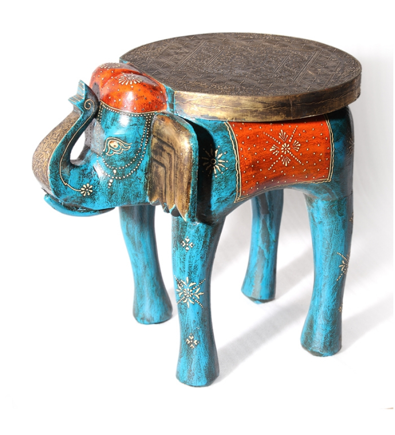 Rangilo rajasthan tantalizing elephant coffee table by mudra online coffee centre tables Elephant coffee table