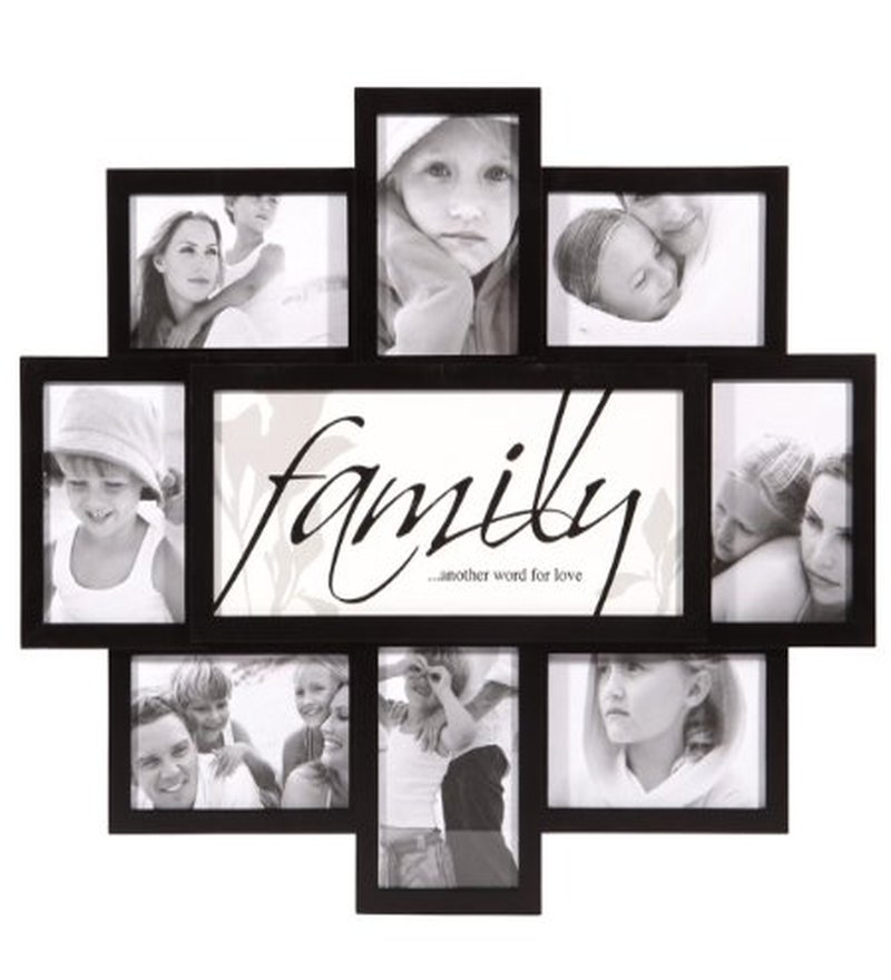 Blacksmith Family Themed Black Photo Frame 8 Frames By