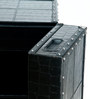 Black Color Mini Bar Cabinet by Studio Ochre
