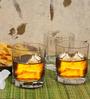 Blinkmax Spectrum Rock 264 ML Whisky Glasses - Set of 6