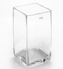 Bloomfields Clear Glass LSA Cube Vase