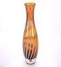 Bloomfields Multicolour Glass MG Tall Amber Vase