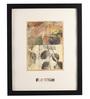 Bloomfields Premium Digital Paper 11 x 14 Inch Lef by Howard Hersh Framed Digital Art Print