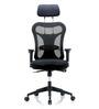 Kruz Black High Back Office Chair by Blue Bell