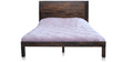 Boerum Queen Bed in Caf Finish by Inliving