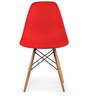 Boca Raton Accent Chair in Rocking Red Colour by HomeHQ
