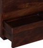 Oakville Solid Wood Bedside Table in Provincial Teak Finish by Woodsworth