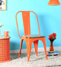 Ekati Orange Colour Chair by Bohemiana