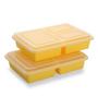 Boffiki Yellow Rectangle 375 ML Smart Store Utility Box - Set of 2