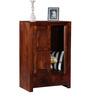 Ontario Small Solid Wood Wardrobe in Honey Oak Finish by Woodsworth