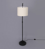 Kasabian Floor Lamp in Beige by Bohemiana