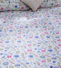 Bombay Dyeing Multicolour 100% Cotton Queen Size Bed Sheet - Set of 3