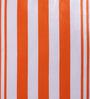 Bombay Dyeing Orange Cotton 16 x 16 Inch Cardinal Printed Stripes & Checks Cushion Cover