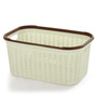 All Time Cresta Plastic Beige 27 L Basket