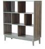 Shinjiko Display Unit cum Book Shelf in Sonoma Oak Finish by Mintwud