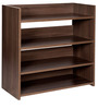 Boots Shoe Rack in Acacia Dark Matt Finish by Debono