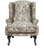 Bordeaux Beauty Chair in Brown color by Urban Living