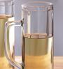 Borgonovo Ireland Ottica Glass 370 ML Beer Mug - Set Of 6