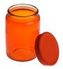 Bormioli Rocco Giara Arancio Orange Glass 1 L Jar- Set of 2