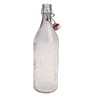 Bormioli Rocco Moresca Clear Glass 1 L Bottle - Set of 2