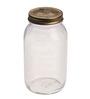 Bormioli Rocco Quattro Stagionie Amfora Clear Glass 1.5 L Jar- Set of 4
