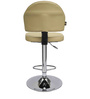 Boston Bar Chair in Beige Leatherette by Starshine